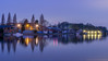 River Thames at Kingston (Colin_Evans) Tags: kingston night river thames dawn sunrise water blue hour london bluehour reflection reflections