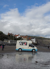 Anyone for an Ice Cream? (daveseargeant) Tags: robin hoods bay yorkshire north whitby leica x typ 113 seaside beach ice cream van