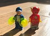The Flash and Fallout (ColbyBricks) Tags: colby custom bricks dc lego toy minifigures the flash super heroes villian fallout