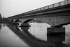 Monumental (Koprek) Tags: fuji gw690ii ilford delta 100 croatia varaždin film medium january 2017 river drava