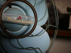 Old electric fan (Sat Sue) Tags: gx7mk2 gx80 gx85 japan mitsubishi