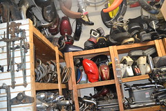 Garage Company, Inglewood Calif. (ATOMIC Hot Links) Tags: motor engines choppers chopper soulrydah biker bikes bikeshow motorcycles motorcycle siccycles scooters oldschool oleskool spokes paint kustom harley harleydavidson bobber fatbob chop wicked heat sicscooters easyrider bagger chrome hotbike custom hawgs hog fatboy ironhorse sprocket cid garagecompany garages garage shop repairshop restorationshop restore yoshi yoshinobukosaka
