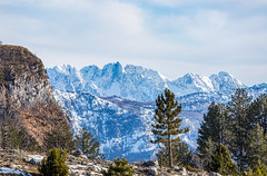 Border Region 2.0 (Chorizo from Berlin) Tags: albania mountains sky montenegro korita winter border canyon podgorica me