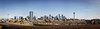 Sunny sky over downtown Denver (Jens Lambert Photography) Tags: buildings capital cityscape colorado denver hwy25 offices panorama quiet apartments bluesky downtown emptyhighway longexposure skyline