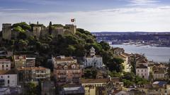 Lissabon, Castelo de São Jorge (FBK1956) Tags: castle burg miradouro aussicht canon5dmarkiii canon5d canon 2016 lissabon portugal
