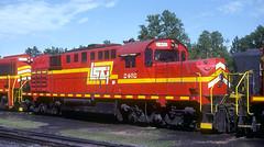 LS&I RSD15 2402 (Chuck Zeiler) Tags: lsi rsd12 2402 railroad alco locomotive marquette train giballbach chz