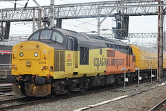 37175 Crewe (Liam Blundell Photography) Tags: class 37 37175 dbso 9703 crewe derby rtc cs test train colas rail freight 3z17 network simply superb