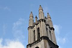 2017-12-14: Four Points (psyxjaw) Tags: london londonist cityoflondon church tower stmichael cornhill blue sky