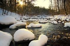 January Morning - Nine Mile Creek (Explored) (j-rye) Tags: sony a6000 sonya6000 sonyalpha mirrorless landscape ninemilecreek water creek stream ilce6000 mtg explored sun sunrise