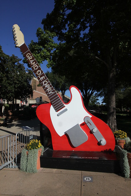 Grand Ole Opry electric guitar