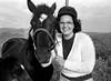 Renata (Mattia Camellini) Tags: ritratto portrait zenitttl mir10a3528mm russianlens vintagecamera russiancamera mattiacamellini ilfordfp4 renatacamellini biancoenero pellicola analog analogue people persone woman horse cavallo