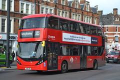 Arriva London HA33 LK66HBA (Will Swain) Tags: brixton 28th october 2017 greater london capital city south east bus buses transport travel uk britain vehicle vehicles county country england english arriva ha33 lk66hba
