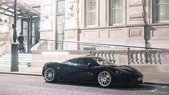 Night in London (Mattia Manzini Photography) Tags: mclaren p1 supercar supercars cars car carspotting nikon v8 green carbon hybrid hypercar automotive automobili auto automobile london uk night