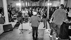 DSC_5052-2 Ester Bajarano auf der Bühne der Alten Fabrik im Museum der Arbeit in Hamburg Barmbek. (christoph_bellin) Tags: bühne alten fabrik museum arbeit hamburg barmbek ester bejarano widerstand überlebende holocaust mädchenorchester akkordeon auschwitz orchester kämpferin esterbejarano kampf vergessen musik nazis krieg rassismus