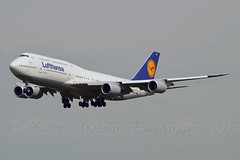 """Baden-Württemberg"" Lufthansa D-ABYG Boeing 747-830 cn/37831-1470 @ EDDF / FRA 01-04-2017 (Nabil Molinari Photography) Tags: badenwürttemberg lufthansa dabyg boeing 747830 cn378311470 eddf fra 01042017"
