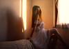 🌹 (MargoLuc) Tags: winter golden light window backlight dreamy mood white rose me self portrait girl woman romantic shadows emotions artisawoman