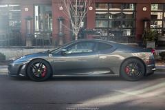 Sun Glare (Hunter J. G. Frim Photography) Tags: supercar colorado ferrari f430 coupe grigio silverstone italian v8 f1 gray grey ferrarif430