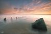 You're so vain (Steve Clasper) Tags: groyne rock sunrise steveclasper vanetempest coast coastal northeast seaham northern north uk seascape
