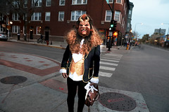 Too Much Beauty (kirstiecat) Tags: halloween costume chicago street stranger vision amazing halsted boystown people