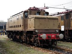 FS E626 443 - C.G.E. (1939) (Maurizio Boi) Tags: fs e626 e626443 treno train zug rail railway railroad ferrovia eisenbhan locomotiva locomotive italy old oldtimer classic vintage vecchio antique