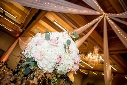 flowers & ceiling