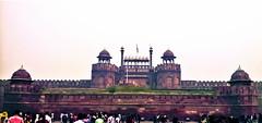 RedFort (ketank10.bhardwaj@ymail.com) Tags: red fort new delhi crowd