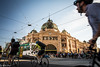 Flinders Street Station (rachman0617) Tags: 澳洲 flindersstreetstation railway melbourne 墨爾本 福林德斯火車站 australia victoria tourists nikon nikond610