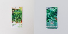 Veggie garden - seeds (burntfeather) Tags: homegrown veggiegarden garden backyard gardening