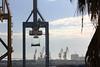 Le port (hans pohl) Tags: espagne andalousie cadix ports harbours grues