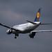 Frankfurt Airport: Lufthansa Airbus A319-112 A319 D-AIBH im Anflug