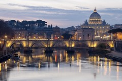 Rome (Stefano Butch Giuliani) Tags: urbanview sunsetview rome sunset sanpietro