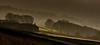Through the mist (Peter Quinn1) Tags: barn farm bamfordedge mist derbyshire countryside winter layers woodland chimney