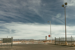 (el zopilote) Tags: albuquerque newmexico cityscape street architecture powerlines signs stop clouds canon eos7d canonefs1018mmf4556isstm
