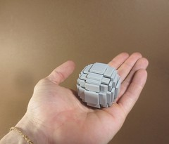 """Studless Lowell sphere (Deus """"Big D."""" Otiosus) Tags: lego sphere lowell revolution tile studless smooth perfect holy grail orb"""