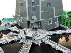 Rogue One - Scarif Citadel (Disco86) Tags: lego moc star wars rogue one scarif citadel battle imperial tower palm beach radar archive archivturm