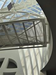 San Francisco, CA, Museum of Modern Art, Atrium, Abstract (Mary Warren 13.5+ Million Views) Tags: sanfranciscoca museumofmodernart architecture building museum atrium skylight sky shadows lines curves diagonals metal