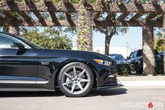 project-6gr-7-spoke-seven-satin-graphite-california-special-01 (PROJECT6GR_WHEELS) Tags: project 6gr 7seven spoke shadow black 50th anniversary satin graphite ford mustang s550 gt 2015