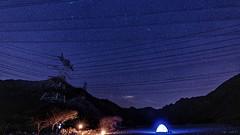 Power lines (Sanjiban2011) Tags: uae khorfakkan travel stars nightphotography nightscape nightsky night landscape nature longexposure outdoor camping nikon d750 tamron tamron1530 fullframe