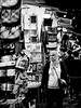 Dec 26, 2017 (pavelkhurlapov) Tags: ladiesmarket evening woman goods walking monochrome streetphotography kowloon mongkok people