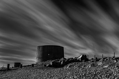 Martello LE (1 of 1) (selvagedavid38) Tags: tower fort castle sky long exposure martello beach shore kent