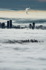 Layers on layers👌(No, it's NOT photoshopped) (Sonika Arora 604) Tags: nikon nikonphotography nikonphotographer nikonphotographers nikond800 photography photo photographer explorebc explorecanada explorevancouver vancouver vancity britishcolumbia bc beautifulbc beautiful canada fog fogcouver downtown downtownvancouver cloudinversion clouds smoke mountain trees stanleypark towers buildings architecture zoom sky
