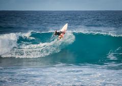 Surf in Guadeloupe (Pierre de Champs) Tags: surf guadeloupe caribbean tropical moule fwi antilles spot martinique roller ocean blue sunset nikonphotography nikon d750