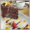 Birthday Cake (ClydeHouse) Tags: byandrew cafe cake birthdaycake instagram twentysix teignmouth
