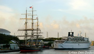 The Stad Amsterdam (City of Amsterdam) is a three-masted clipper that was built in Amsterdam, the Netherlands, in 2000 at the Damen Shipyard.