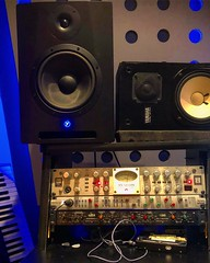 Press Play (Pennan_Brae) Tags: music speakers speaker soundengineering soundengineer musicproduction musicproducer studiolife recordingsession recordingstudio recording musicstudio