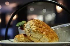 Afternoon Tea! (tanyalinskey) Tags: afternoontea indoor lights yummy cake scone macro food meal bread