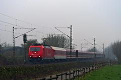 185 587 MS Leerzug 12012018 dvd0035 3 (Dirk Buse) Tags: münster nordrheinwestfalen deutschland deu nrw leerzug schnee express rheincargo rhein cargo baureihe 185 587 germany train rail railway dunst nebel fog