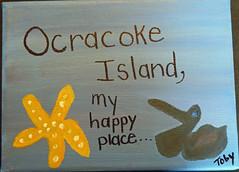 My Happy Place-Bertha Hosey #2 (ocracokepreservationsociety) Tags: ocracoke ops obx ocracokeisland opsauction art