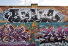 BOGUS (TheGraffitiHunters) Tags: graffiti graff spray paint street art colorful camden nj new jersey legal wall mural bogus