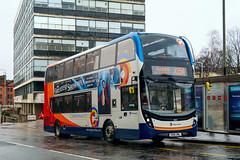 10524 SN16OML Stagecoach Western (busmanscotland) Tags: 10524 sn16oml stagecoach western sn16 oml ad alexander dennis e40d e400 enviro 400 400mmc
